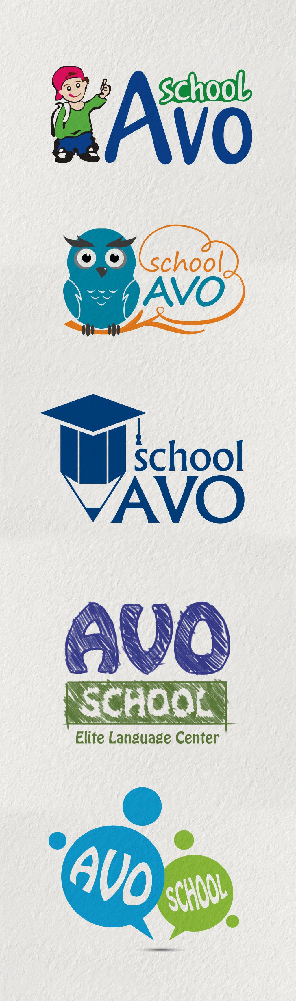 AvoSchool-logo-design