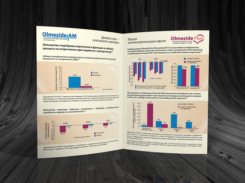 Pharma Leaflet Stada Olmezide AM